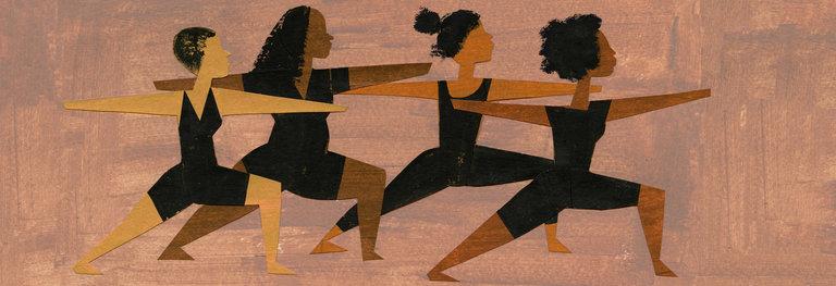 black-yoga
