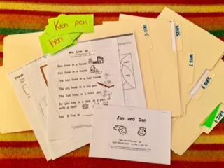 5 Week Trial folders